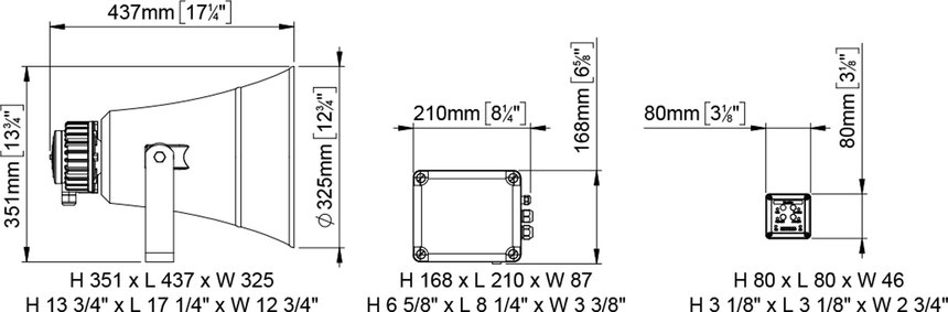 ew3 ms electronic whistle 20 75m fog signal 24v marco spa. Black Bedroom Furniture Sets. Home Design Ideas