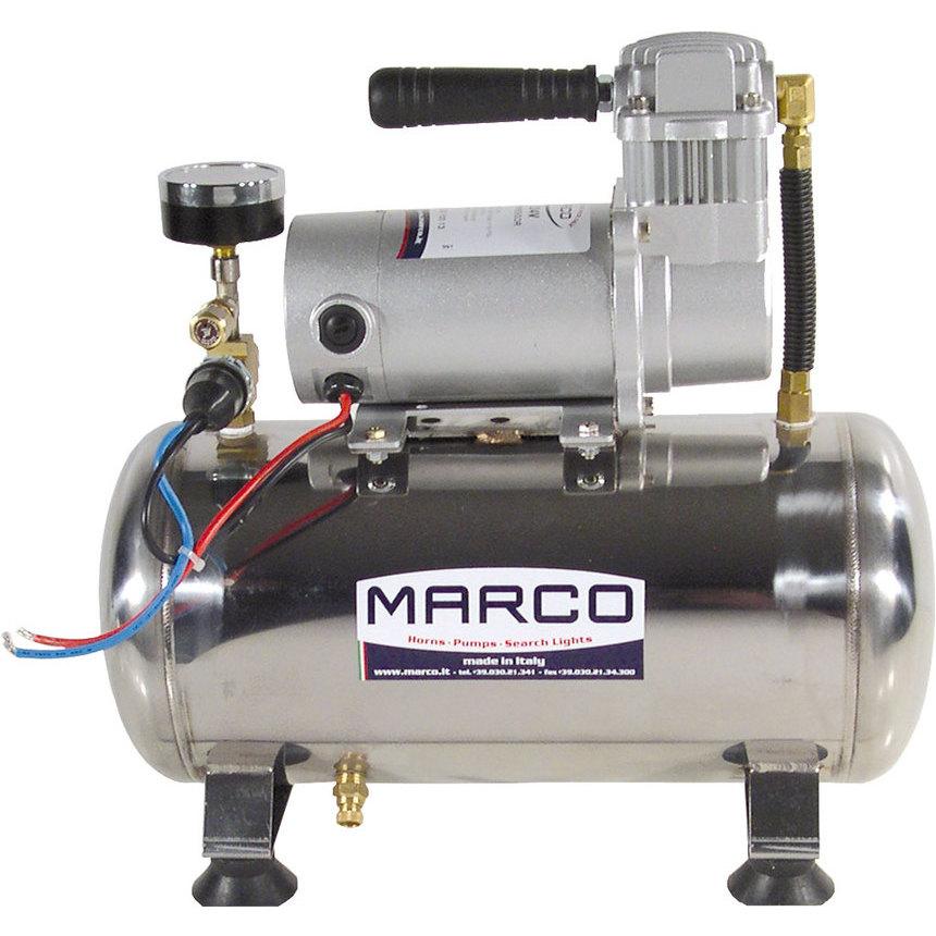 M3 Compressore AISI 304  8 l