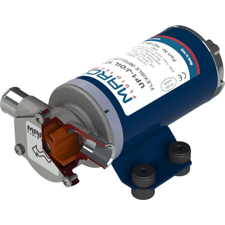 UP1-J/OIL pompa a girante in FKM per olio