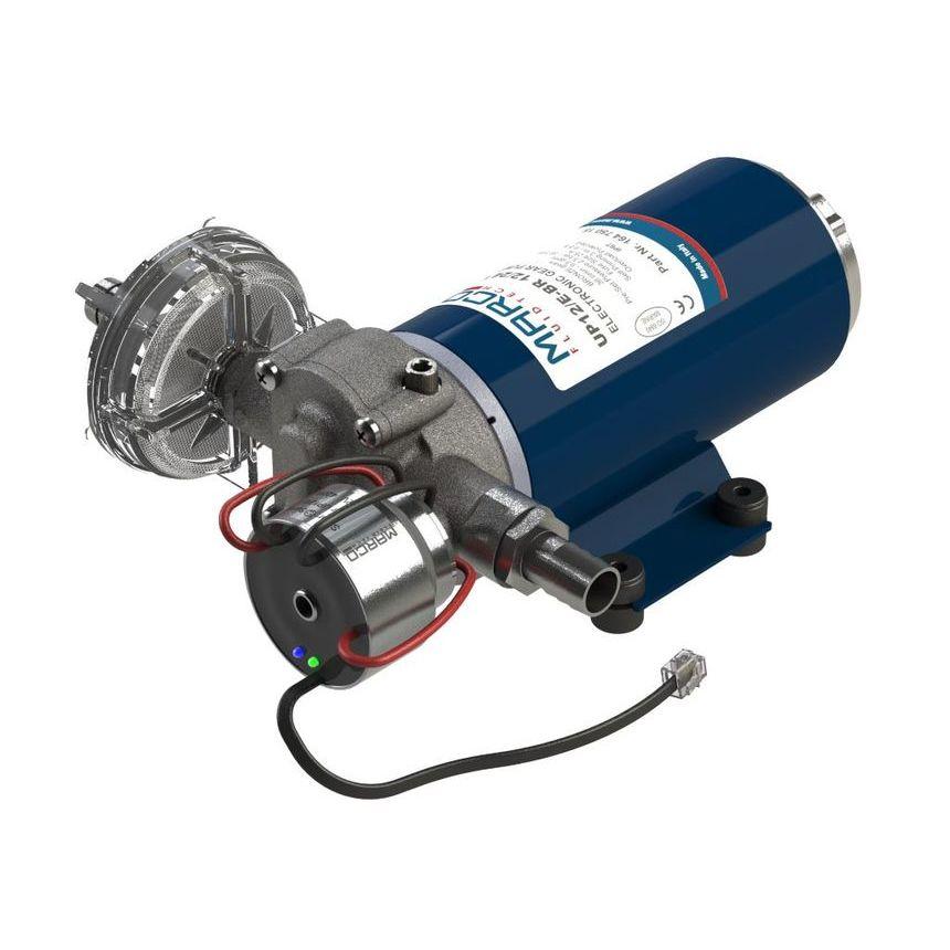 UP12/E-BR pompa ad ingranaggi in bronzo con controllo elettronico + SCS 36 l/min