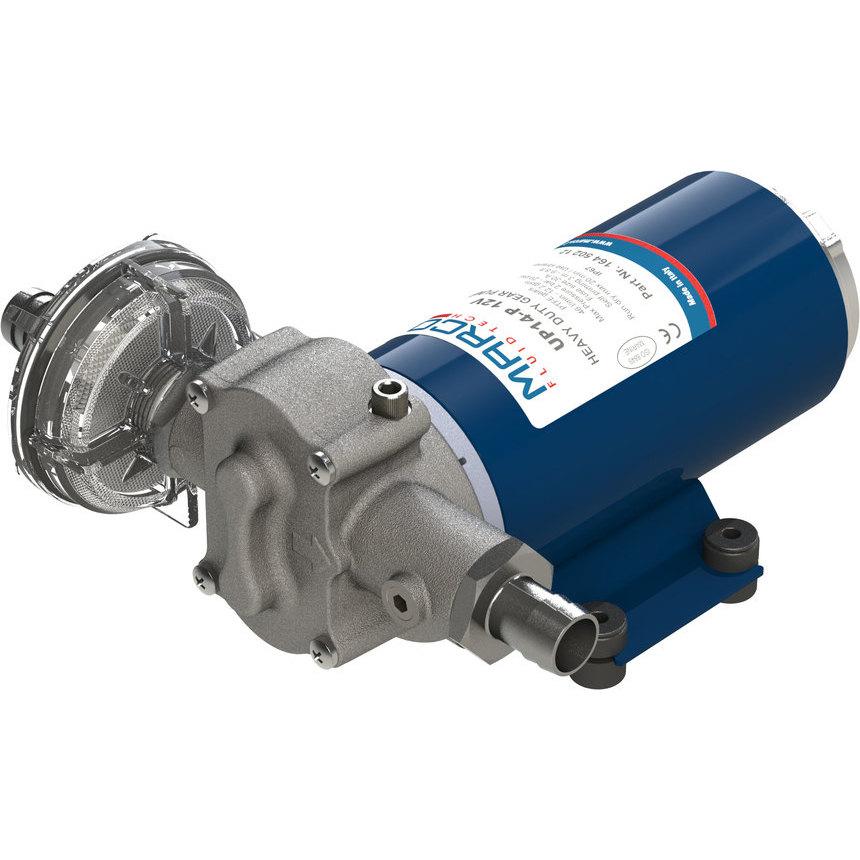 UP14-P pompa ad ingranaggi in PTFE 46 l/min