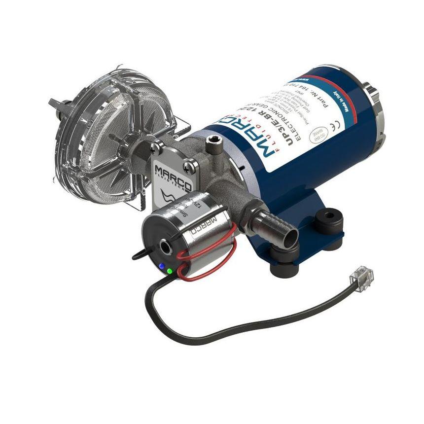 UP3/E-BR bronze gear pump with electronic pressure sensor + SCS 15 l/min