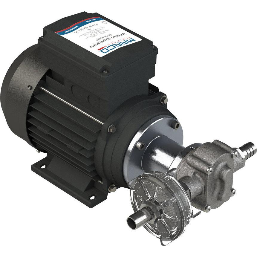 UP6/AC pompa ad ingranaggi in PTFE 28 l/min