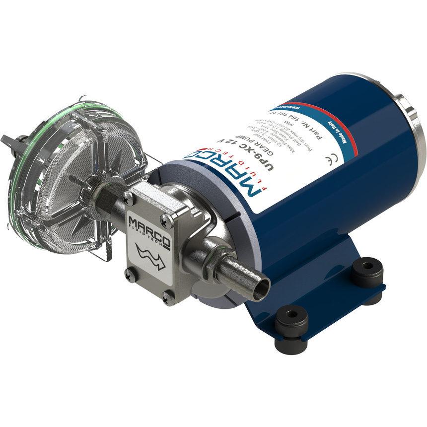 UP9-XC pompa per servizi gravosi 12 l/min - inox AISI 316