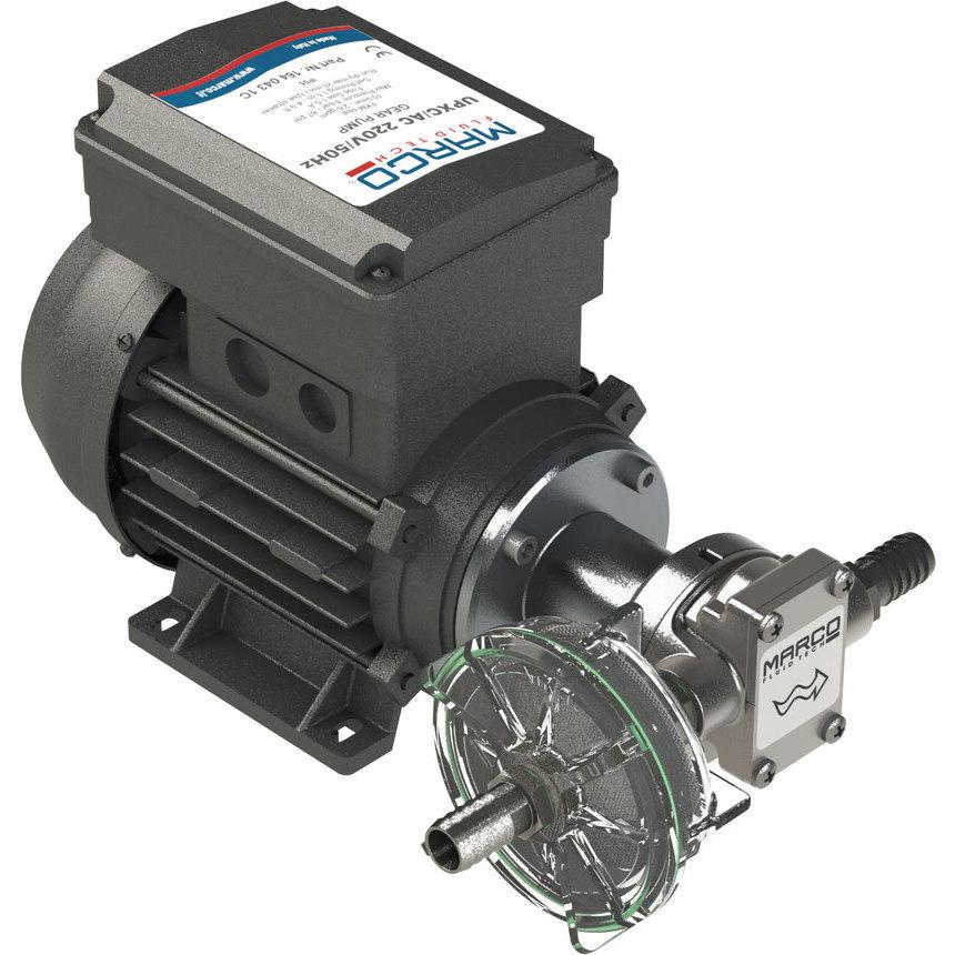 UPX-C/AC Pompa per chimici 10 l/min - inox AISI 316