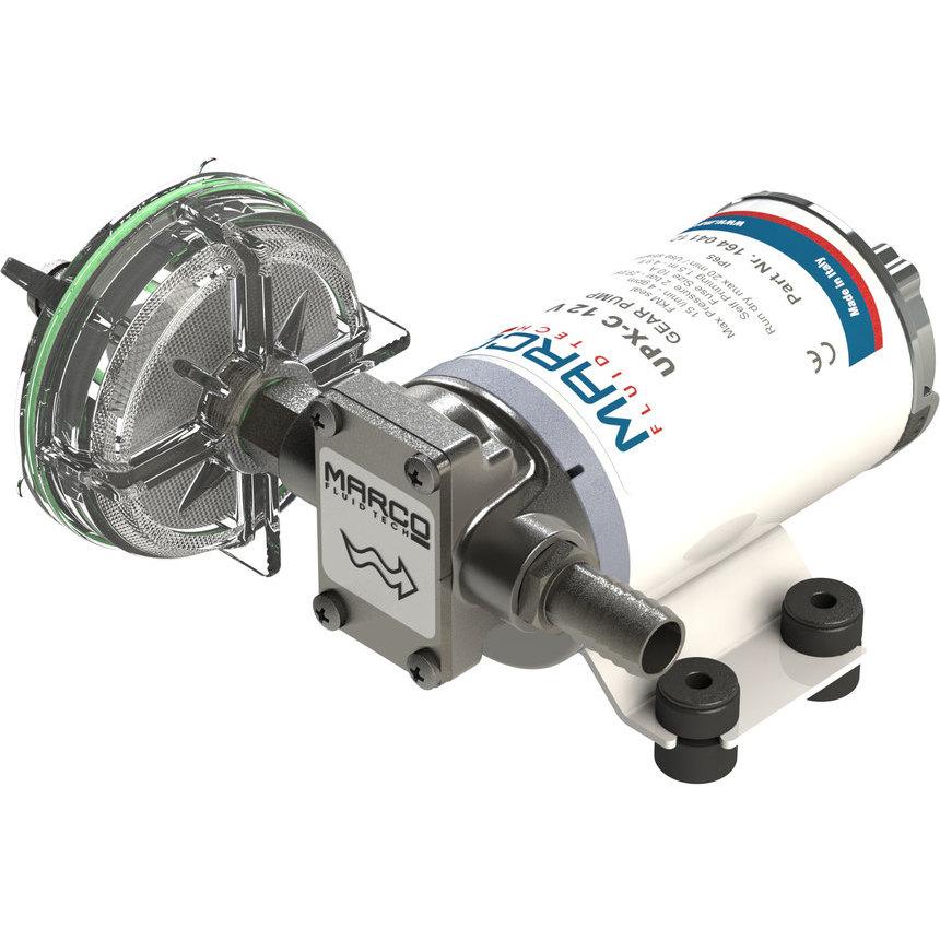UPX-C Pompa per chimici 15 l/min - inox AISI 316