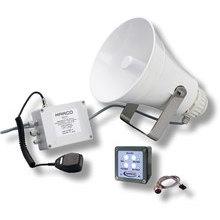 EW3-M Buzina eletrônica 20/75m + amplif.+ sinal de nevoeiro