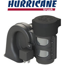 HURRICANE TRUCK Compact horn with integrated compressor