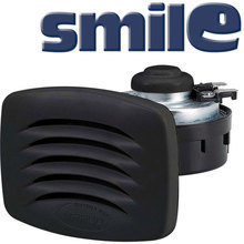 SMILE Built-in horn with black grill, blister