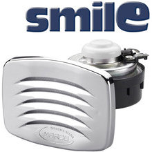 SMILE Built-in horn with chromed grill, blister