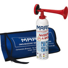 TA1R Portable gas horn, s.s. diaph., 750 ml