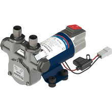 VP45A-S Vane pump with on/off switch 45 l/min, brass fittings