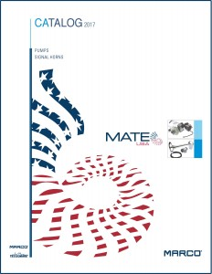 MATE CATALOGUE 2017 / PUMPS AND SIGNAL HORNS